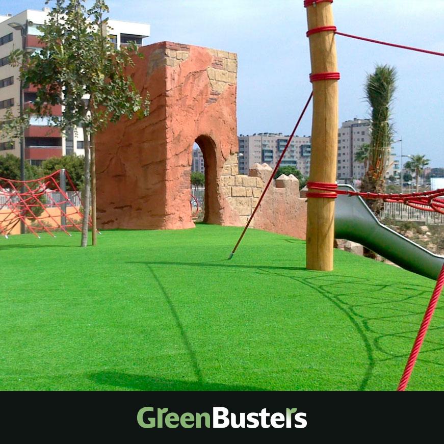 Césped artificial para parques infantiles greenbusters