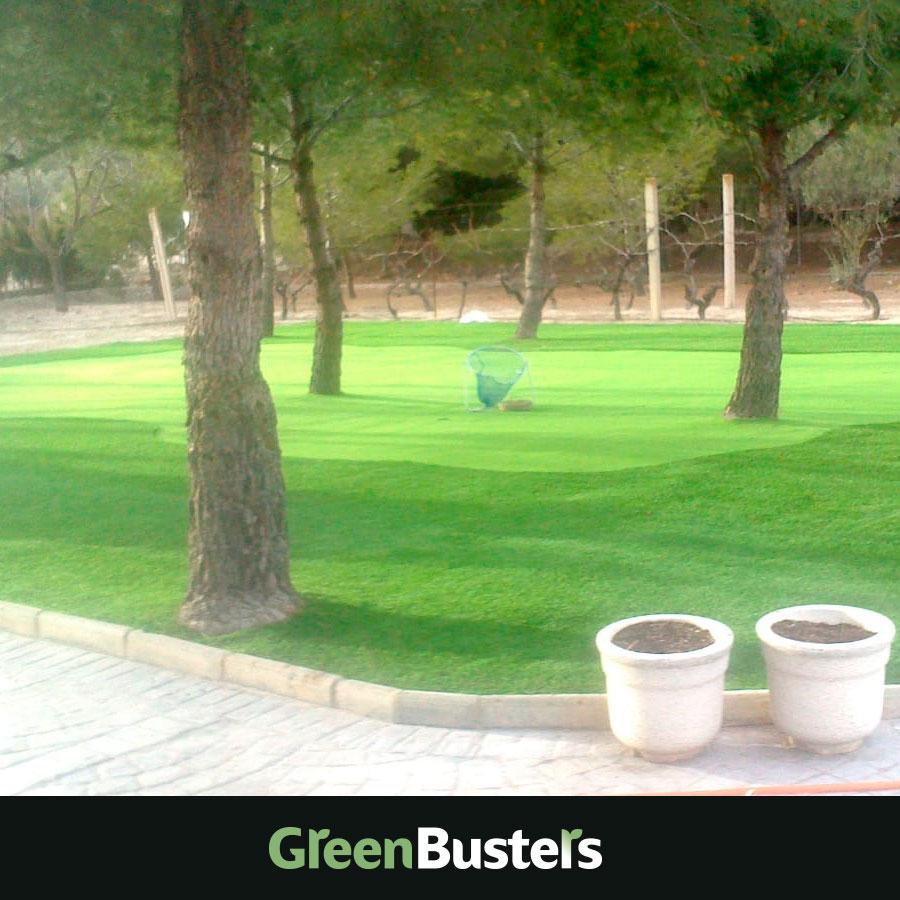 Césped artificial espacios públicos parque por greenbusters