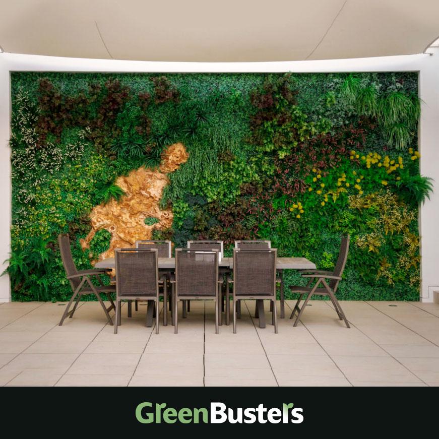jardines verticales interior comedor greenbusters